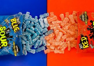 You Can Now Get Bags Of Just Red Or Blue Sour Patch Kids – Simplemost